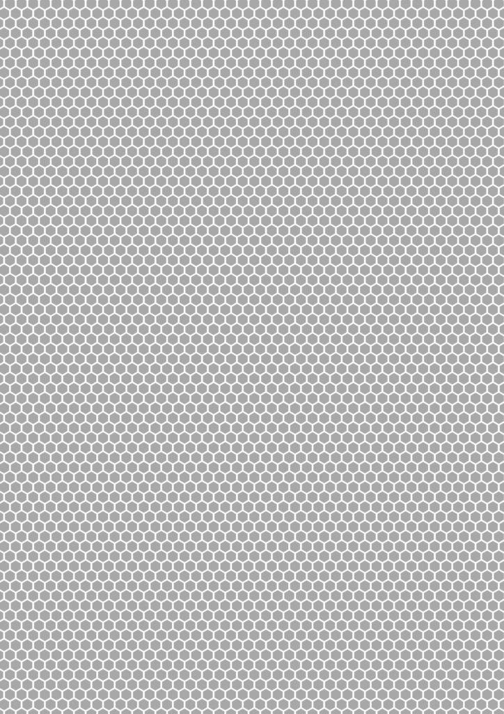 Very High Density Positive Hexagon Printing