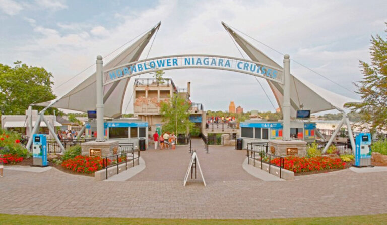 Hornblower Niagara Cruises Ticketing Plaza
