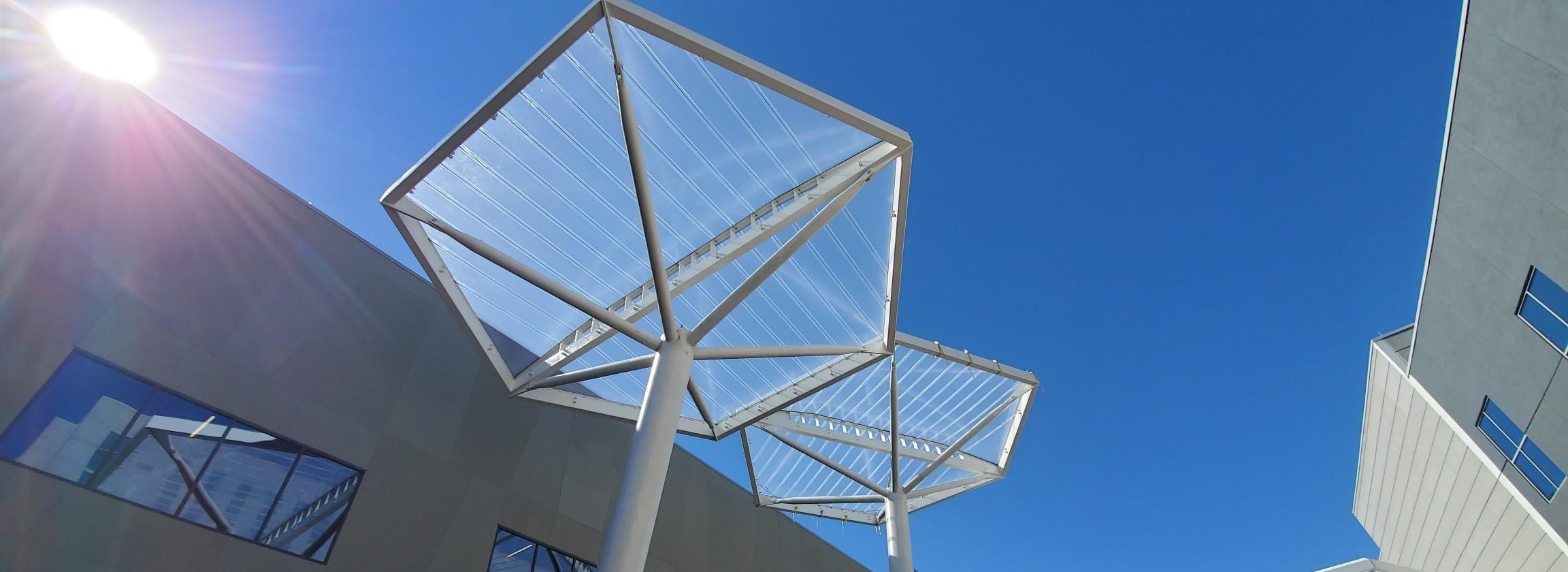 Birdair ETFE structure
